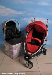 Carrinho Importado Trends for Kids<br>Bebe conforto Importado  Cybex com base