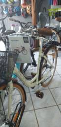 Bicicleta Feminina Retrô Alumínio