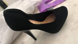 Sapato vizzano novos tamanho 33 camurça