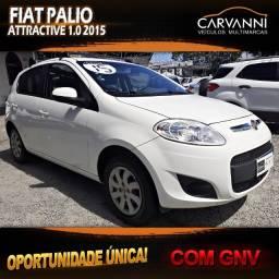 Fiat Palio Attractive 1.0 2015 com GNV