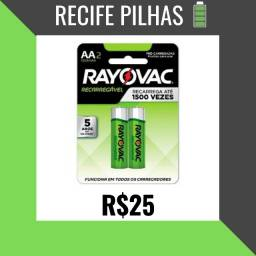 Pilha Recarregavel AA Rayovac original