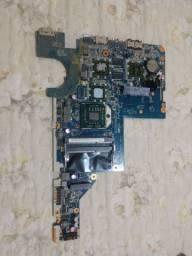 Placa mãe notebook HP modelo G42-371BR + processador AMD Turion P560