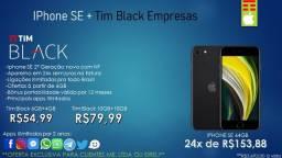 Iphone SE 64GB + Tim Black Empresas