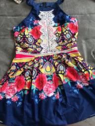 Bazar da quarentena - vestido novo meigo