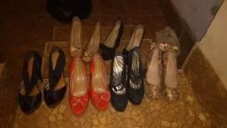 Vendo sapatos femininos em ótimo estado