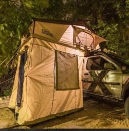 Barraca de teto Bluecamping modelo expedition