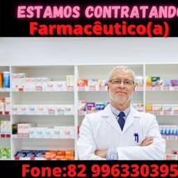 Estamos contratando Farmacêutico (Urgente)