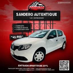 Sandero Autentique 1.0 2020