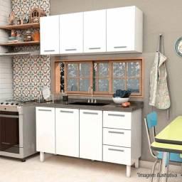 Gabinete, armário e pia de cozinha novo cozimax