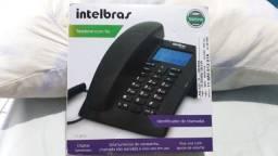 Telefone com identificador de chamadas (Intelbras)
