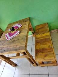 Mesa c banco