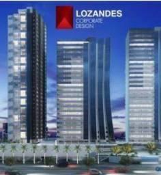 Sala Comercial, Lozandes Park, 56 metros, analiso permuta em apartamento ou carro