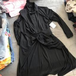 Bazar da quarentena - vestido na etiqueta preto novo