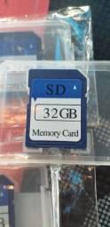 cartão de memória 32gb classe 10 novo 80mbs