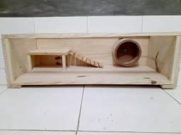 Casinha para hamster.