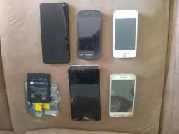 Troco aparelhos celulares antigos por um usado