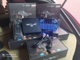 TV BOX MXQ PRO 4K WIFI 5G ANDROID 10 4G DE RAM 64G DE ARMAZENAMENTO INTERNO