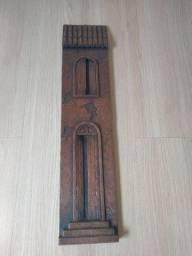 Quadro madeira maciça