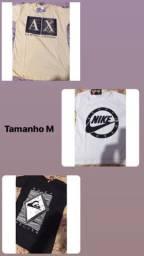 Camisetas masculinas de ótima qualidade