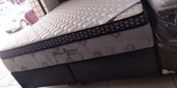 Conjunto,Colchão,Cama box Queen size158x198x32Petrus Premium chame no whatssap *