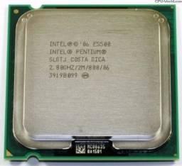 Processador Intel Dual Core E5500 2.80ghz Lga 775