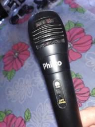 Microfone Philco