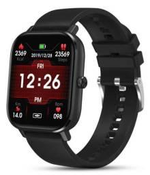 Relógio Inteligente Smartwatch P8 Pro Dt35 Preto Faz e Recebe Chamada - Colmi