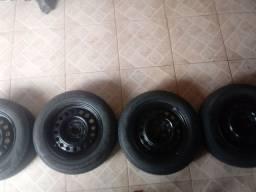 Rodas 14 ferro