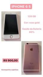 Iphone 6s - 128gb ótimo estado