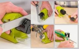 Amolador eletrico faca canivete tesoura chave de fenda