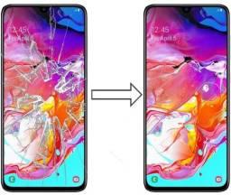 Vidro da Tela para Samsung A70 A705 , Mantenha a Originalidade do seu Estimado Celular!