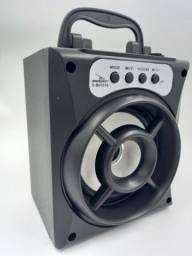 Caixa De Som Portátil Bluetooth Speaker Função Tws Rádio Fm