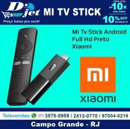 Mi Tv Stick Android Full Hd Preto - Xiaomi - 210512