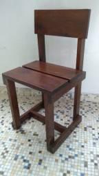 Cadeiras Rústicas antiga 1 peça