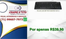 Teclado USB maxprint 60814-5