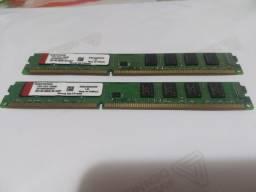Memórias ddr3 2+2gb 1333mhz Ac cartões