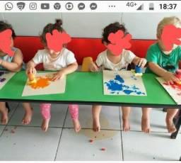 Mesa  de atividades/refeitório infantil