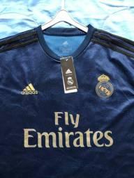 Camiseta Real Madrid 19/20 - Tamanho GG