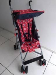 carrinho de bebê umbrella linea vermelho