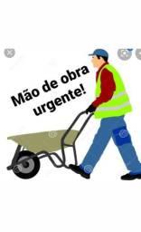 Mão de obra urgente