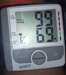 Aparelho de pressão pulso G tech, semi Novo.