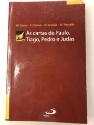 Livro: As cartas de Paulo, Tiago, Tiago, Pedro e Judas   editora Paulus