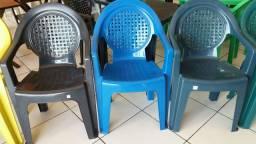 Cadeira De Plástico Modelo Star várias Cores