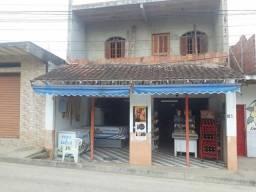 Imóvel comercial com casa semi pronta