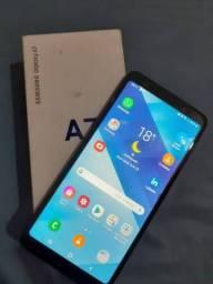 Galaxy A7  128 GB de memória interna