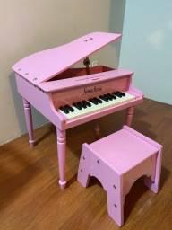 Piano Infantil - Rosa - 2 á 6 anos