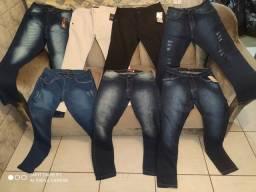 Calça jeans ou sarja R$ 59,99/ 64,99 cartão  / Calça jeans 50,52e 54 R$ 70,00