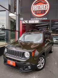 Jeep Renegade longitude automático Flex 2017 4x2 impecável