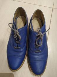 Sapato feminino azul Royal Tam 36