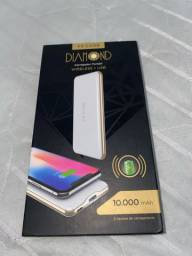 Carregador Portátil Wireless VX CASE 10.000mAh